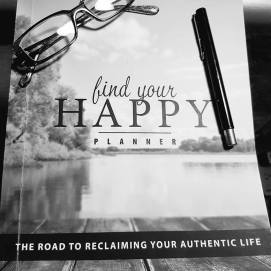 Find Your Happy, Rhonda Zarate, planner, schedule, vision board, lists, to do, call, social media, plan, meaning, balance, important
