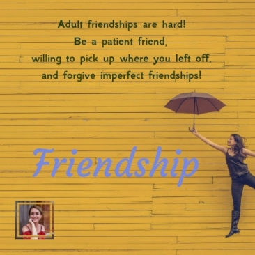friendship, patient, imperfect, sisterhood, waiting, coffee