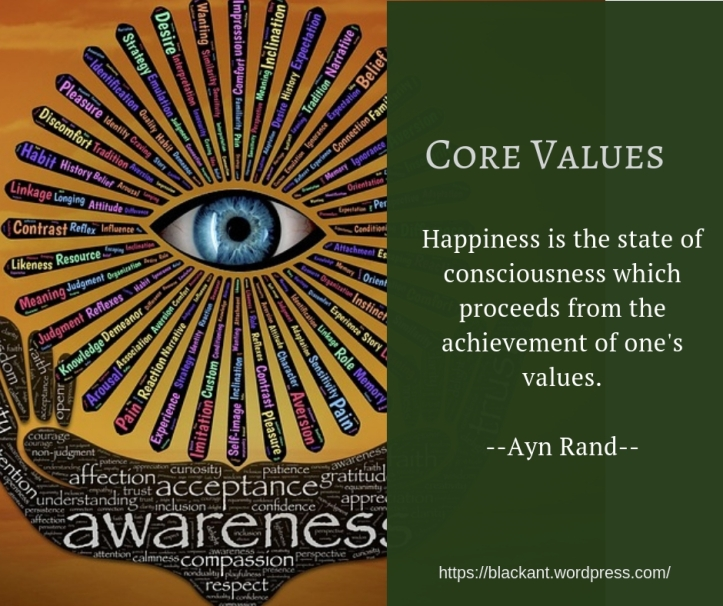 Happiness is the state of consciousness which proceeds from the achievement of one's values. Ayn Rand