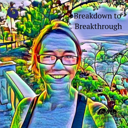 Breakdown to breakthrough, breaking, broken, hurt, destroyed, crushed, defeated, letting go, let go, release, change, transformation, phoenix, rising from the ashes, transformational, breakthrough, break through, grow, emerge, crysalis, butterfly