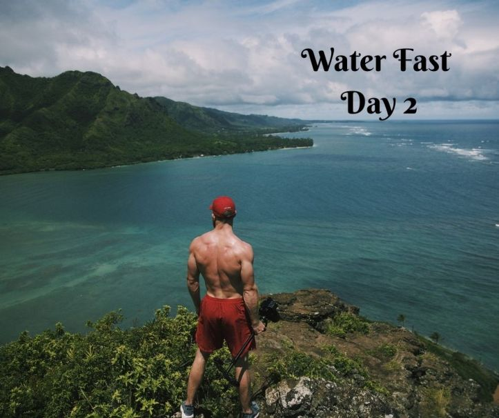 water fast day 2