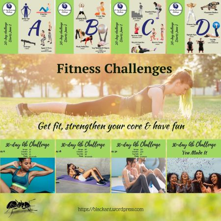 fitness challenges, get fit, strengthen your core, have fun, my summer body, fitness goals, living with health and vitality, self mastery, empowerment, laughter, joy, feeling good, planks, sit ups, crunches, squats, strong legs, lower back pain, jumping rope, jumping jacks, being a parent, rainy day activities